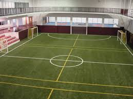 indoor soccer fields
