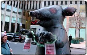 blow up rat