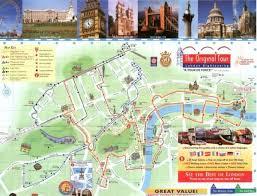 mapa londyn