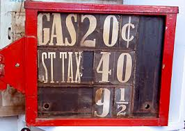 old gas signs
