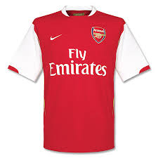 arsenal home top