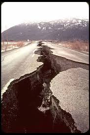 california earthquake pictures