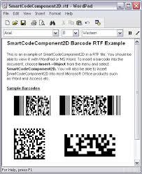 2 dimensional barcode