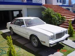 chrysler cordoba 1981