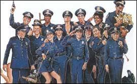 cast of police academy