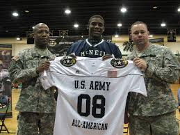 army football players
