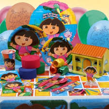 dora the explorer birthday decorations