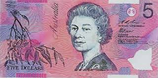 5 dollar note