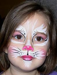 cat face painting designs