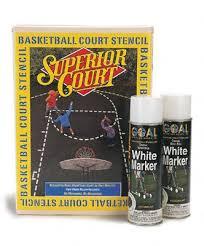 basketball court marking