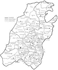 mapa de mexico en 1800