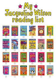 jacqueline wilsons books