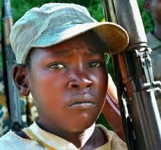 congo child soldier