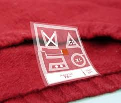 care labels for clothes