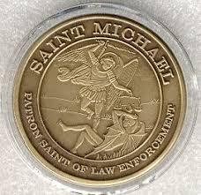 saint michael medallion