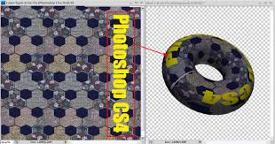 photoshop wrapping