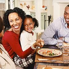family dinner tables