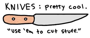 american knife