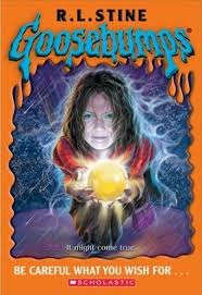 pictures of goosebumps books