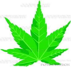 cartoon pot leaf
