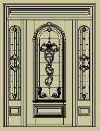 beveled doors