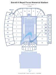 darrell k royal stadium seating