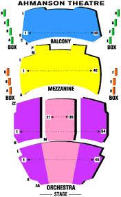 ahmanson theatre seating
