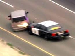 high speed car chase