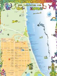 map of tulum mexico