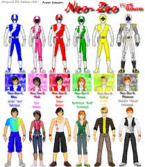 power rangers character