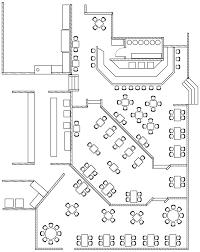 plan de restaurant