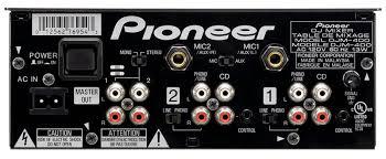 pioneer djm400 mixer
