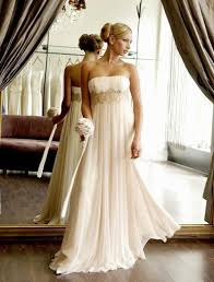 chiffon bridesmaid gown