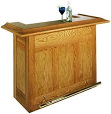 home built bar