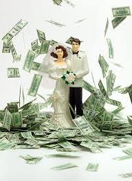 money wedding