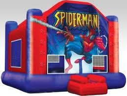spiderman inflatable