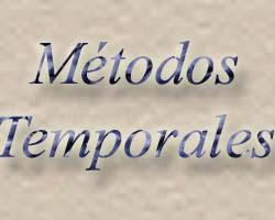metodos temporales