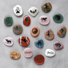 animal stones