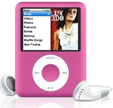 ipod nanos pink