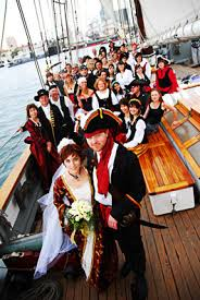 ship wedding