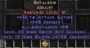 metalgrid amulet