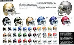 pro football helmets