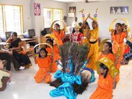 indian kids dancing