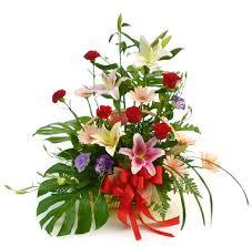 indian flower arrangements