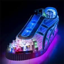 neon high top sneakers