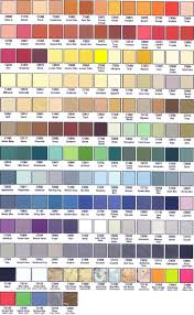 paint colors chart