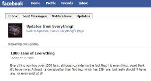 Funny Facebook Announcement