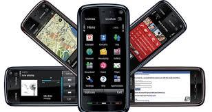 nokia touchscreen mobiles
