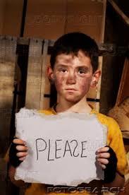 impoverished child