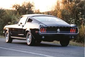 mustang fastback 1968